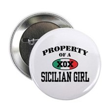 Property of a Sicilian Girl Button