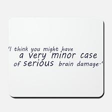 Brain Damage Wheatley Mousepad
