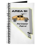 Area 51 Perimeter Patrol Journal