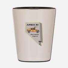 Area 51 Perimeter Patrol Shot Glass