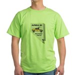 Area 51 Perimeter Patrol Green T-Shirt