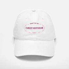 Family Historian Baseball Baseball Cap