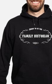 Family Historian Hoodie (dark)