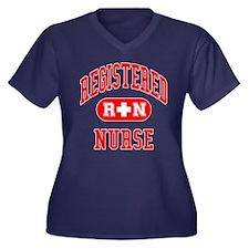 RN - Registered Nurse Women's Plus Size V-Neck Dar