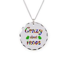 Crazy About Frogs Necklace