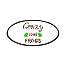 Crazy About Frogs Patches