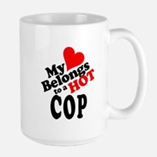My Heart Belongs to a HOT Cop! Mug
