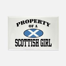 Property of a Scottish Girl Rectangle Magnet