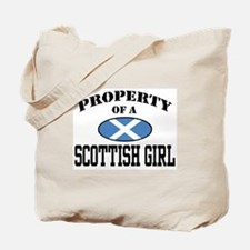 Property of a Scottish Girl Tote Bag