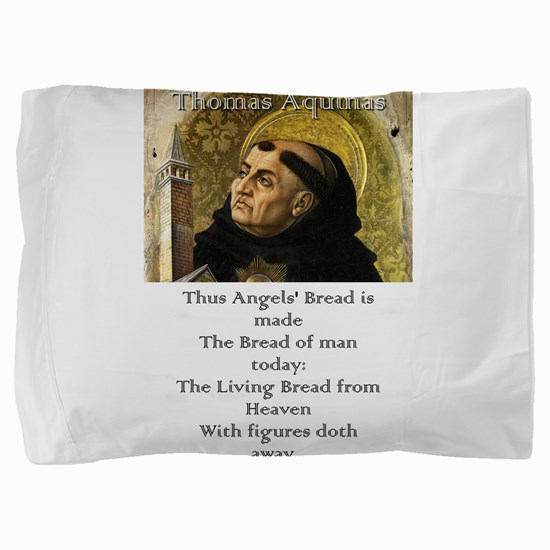 Thus Angels' Bread Is Made - Thomas Aquinas Pi