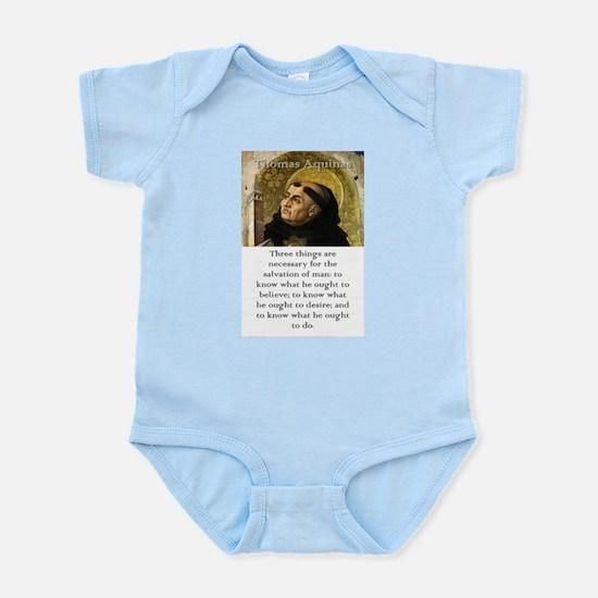 Three Things Are Necessary - Thomas Aquinas Infant