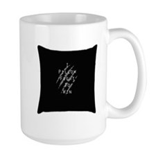I Pillow Fight to Win Mug