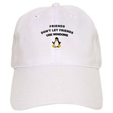 Friends Dont Let Friends Baseball Cap