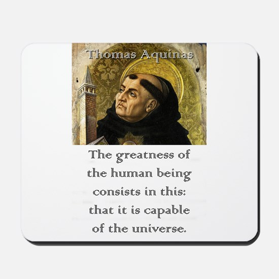 The Greatness Of The Human Being - Thomas Aquinas