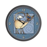 Siamese cat clock Wall Clocks