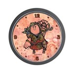 Warrior Woman Wall Clock