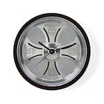 MC Wheel Wall Clock