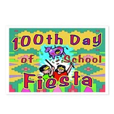 100th Day Bee There Postcards (Package of 8)
