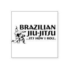 Jiu-Jitsu Rectangle Sticker