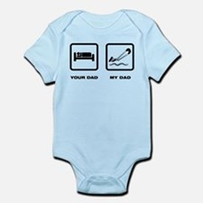 Kitesurfing Infant Bodysuit