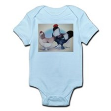 Salmon Faverolle Infant Bodysuit
