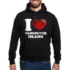 I Heart Vancouver Island Hoodie