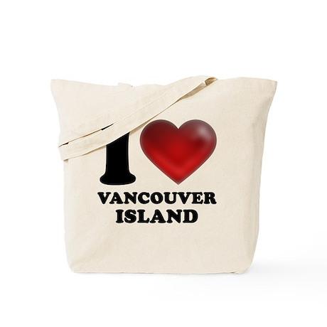 I Heart Vancouver Island Tote Bag