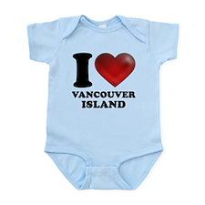 I Heart Vancouver Island Infant Bodysuit