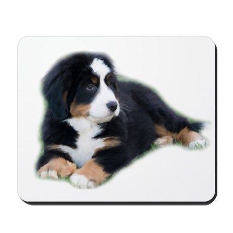 bernese-mountain-puppy_ Mousepad