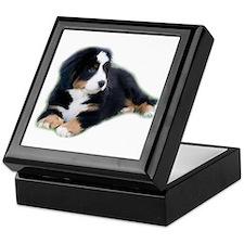 bernese-mountain-puppy_ Keepsake Box