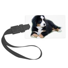 bernese-mountain-puppy_ Luggage Tag