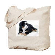 bernese-mountain-puppy_ Tote Bag
