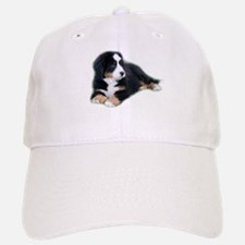 bernese-mountain-puppy_ Baseball Baseball Cap