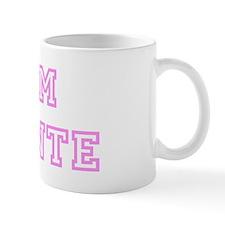Pink team Devonte Small Mug