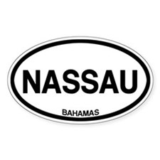 Nassau, Bahamas Decal