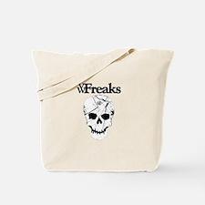 Das VW-Freaks Mascot - Branded Skull Tote Bag