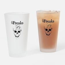 Das VW-Freaks Mascot - Branded Skull Drinking Glas