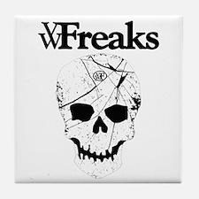 Das VW-Freaks Mascot - Branded Skull Tile Coaster