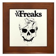 Das VW-Freaks Mascot - Branded Skull Framed Tile