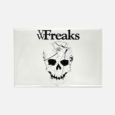 Das VW-Freaks Mascot - Branded Skull Rectangle Mag