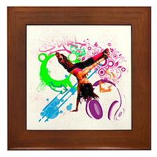 B-Girl Framed Tile