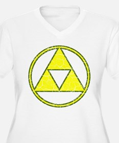 Aged Triangle Gamer Shirt T-Shirt