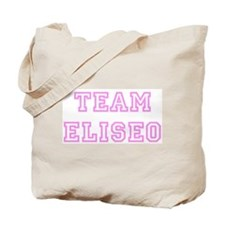 Pink team Eliseo Tote Bag
