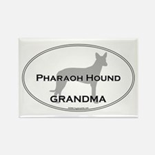 Pharaoh Hound GRANDMA Rectangle Magnet