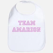 Pink team Amarion Bib