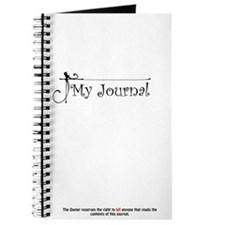 My Journal - Disclaimer Journal