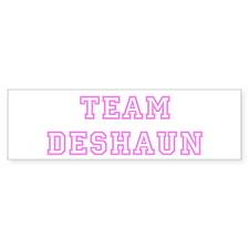 Pink team Deshaun Bumper Bumper Sticker