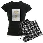Keep calm and pin me on crown Women's Dark Pajamas