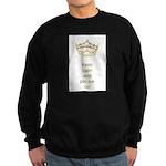 Keep calm and pin me on crown Sweatshirt (dark)
