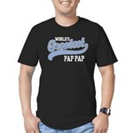 World's Greatest Pap Pap Men's Fitted T-Shirt (dar